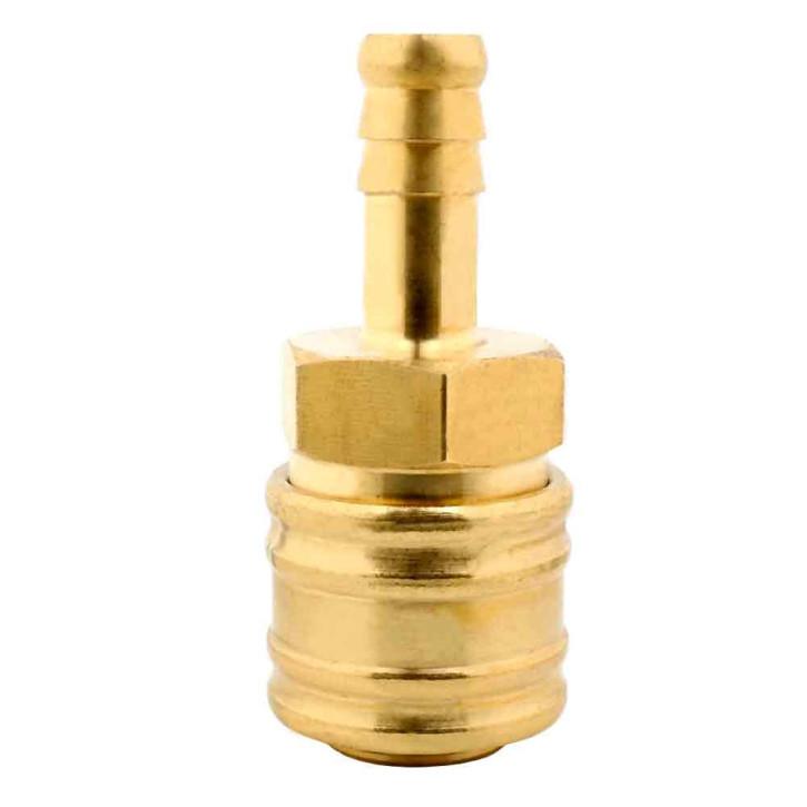 Druckluftkupplung mit Schlauchtülle 10mm
