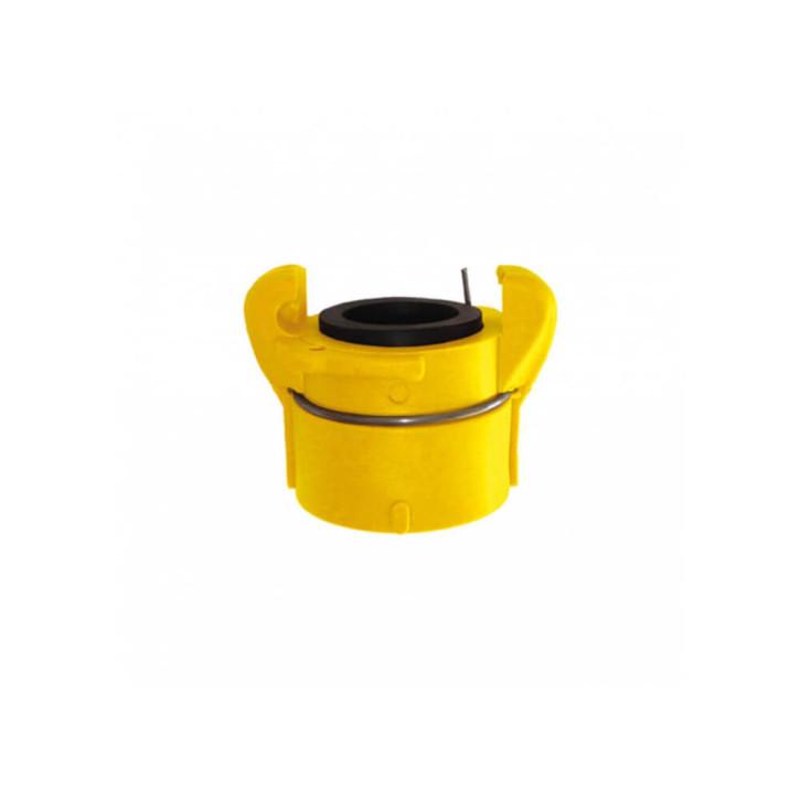 Sandstrahlkupplungen, Innengewindekupplung mit automatischer Sicherung (Nylon)