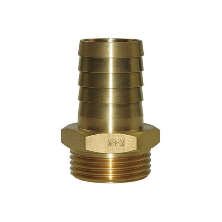 1/3 Verschraubung mit Sechskant und Schlauchtülle, Messing | 1/2 Zoll, 10mm