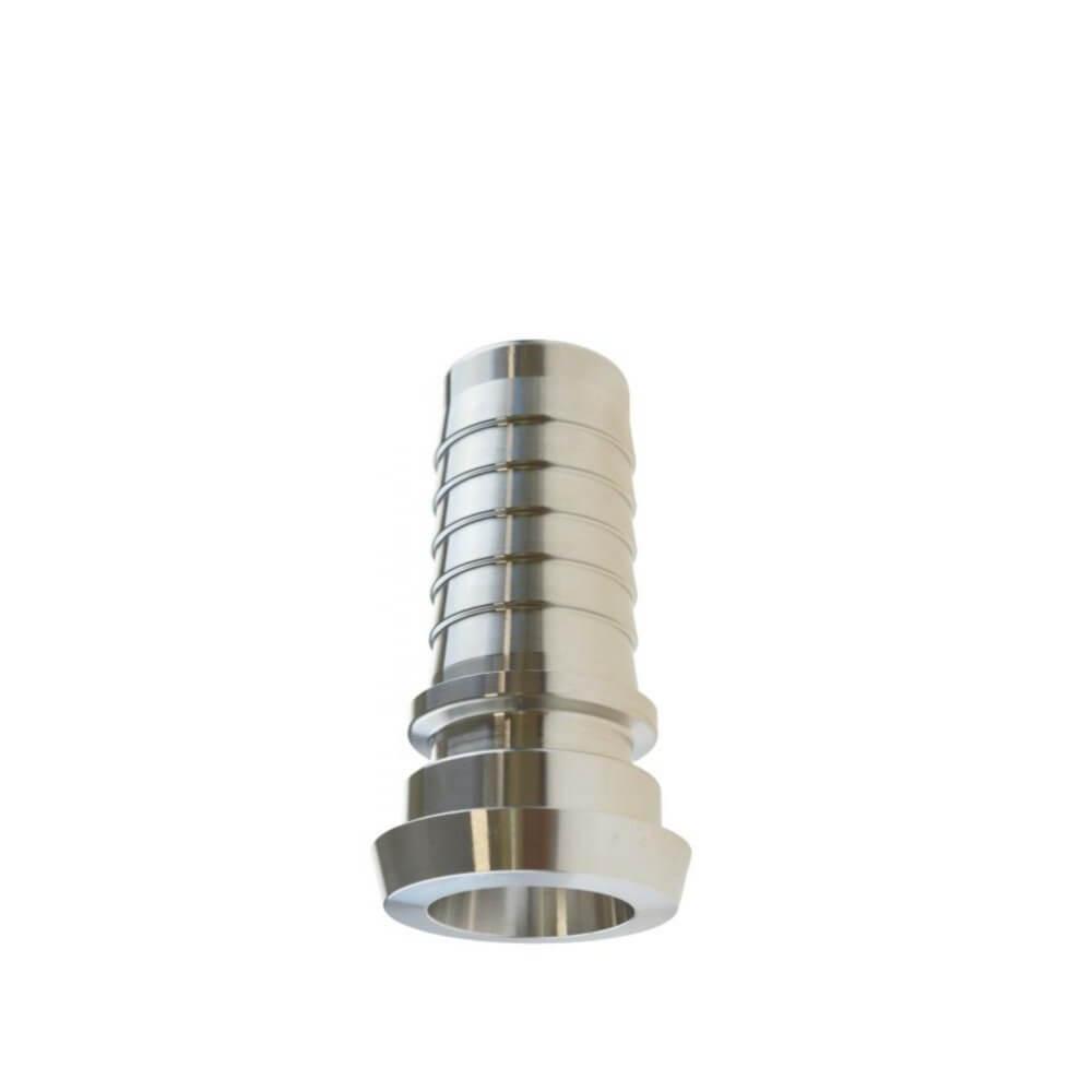 Milchrohrverschraubung, Kegelstutzen, DIN 11851 für Dampfschlauch, Rillenstutzen, Sicherungsbund