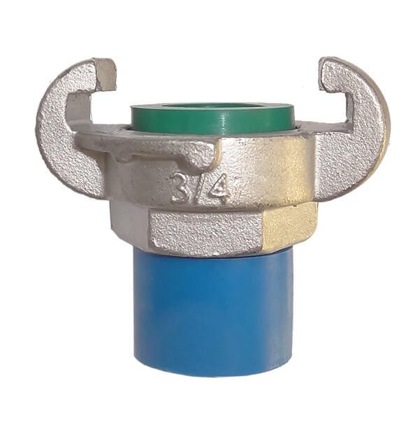 Pressluftkupplung mit Außengewinde, Edelstahl, DIN 3489