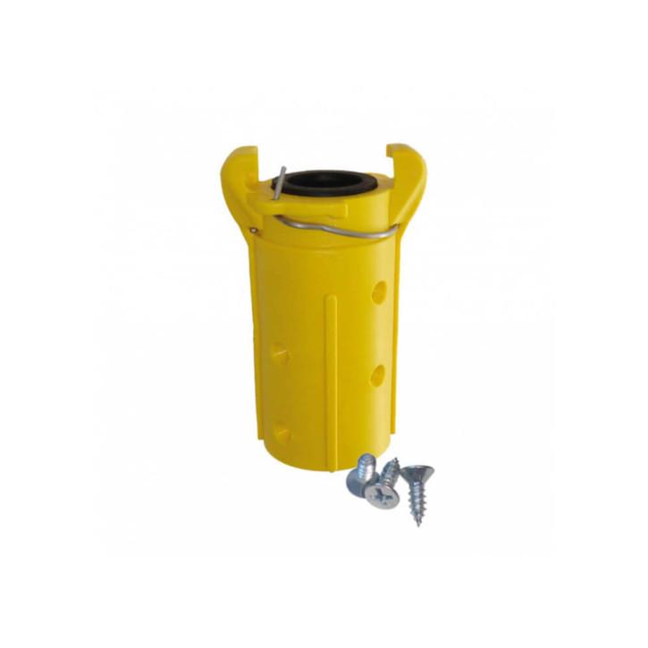 Sandstrahlkupplungen, Schlauchkupplung mit automatischer Sicherung (Nylon)
