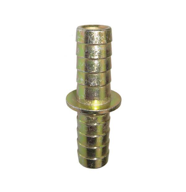 Schlauchverbindungsrohr mit Sicherungsbund