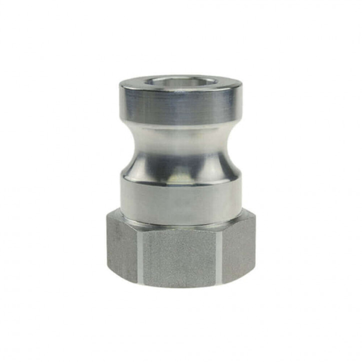 Mörtelkupplung Vaterteil mit Innengewinde aus Aluminium